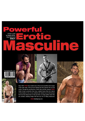 COLT Hairy Chested Men Book