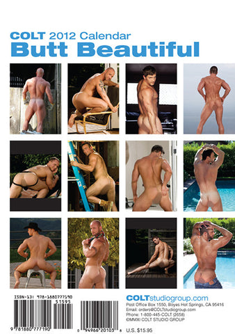 2012 Butt Beautiful Calendar