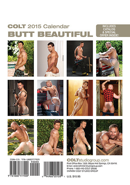 2015 Butt Beautiful Calendar