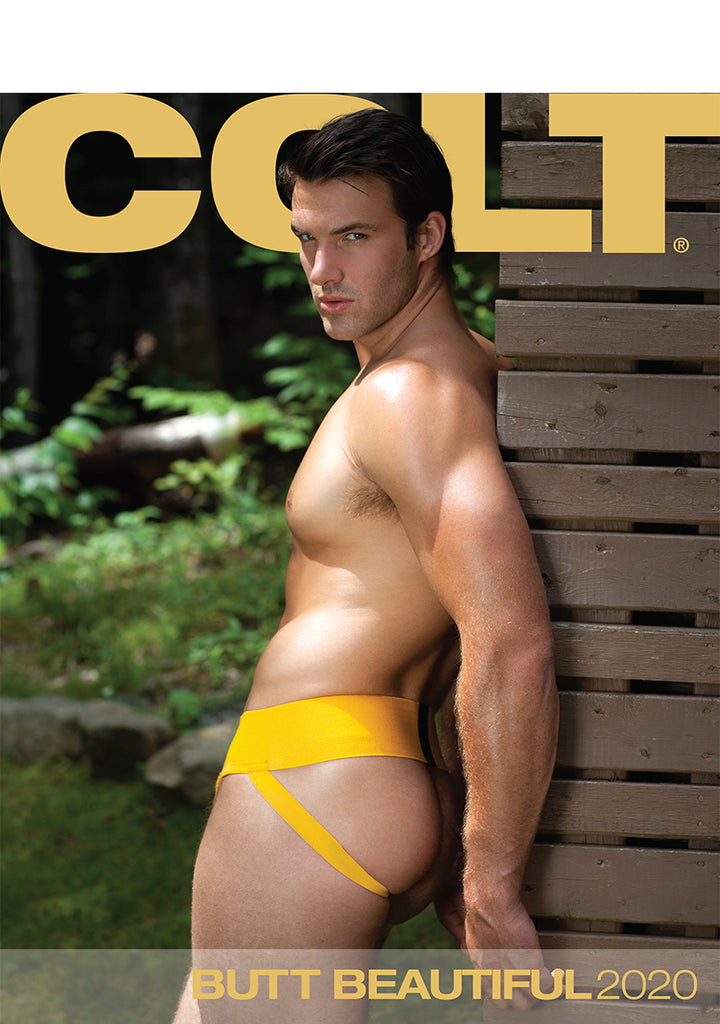 COLT Butt Beautiful Digital 2020 Calendar