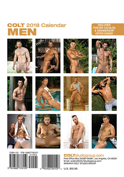 COLT Men Digital 2018 Calendar