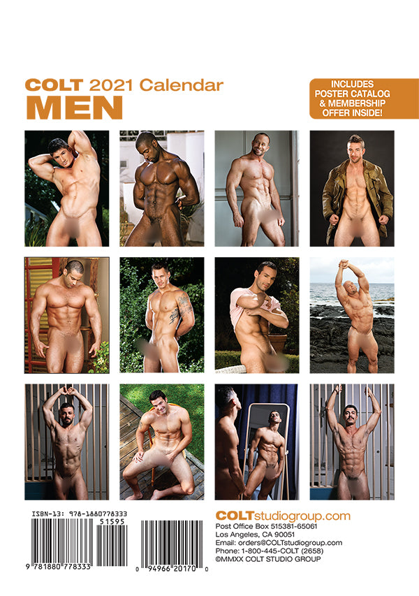 Digital COLT Men 2021 Calendar