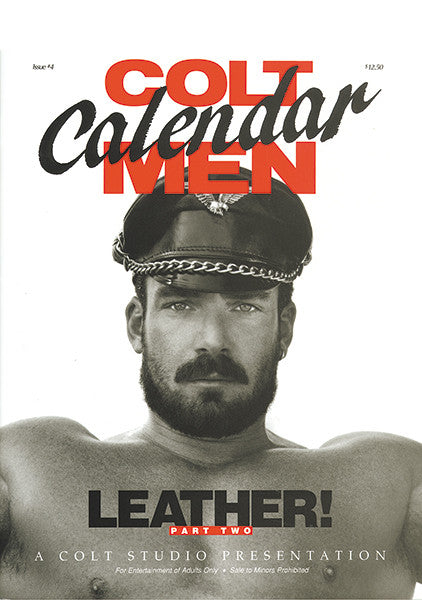 COLT Calendar Men #4 - LEATHER
