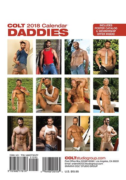 COLT Daddies Digital 2018 Calendar