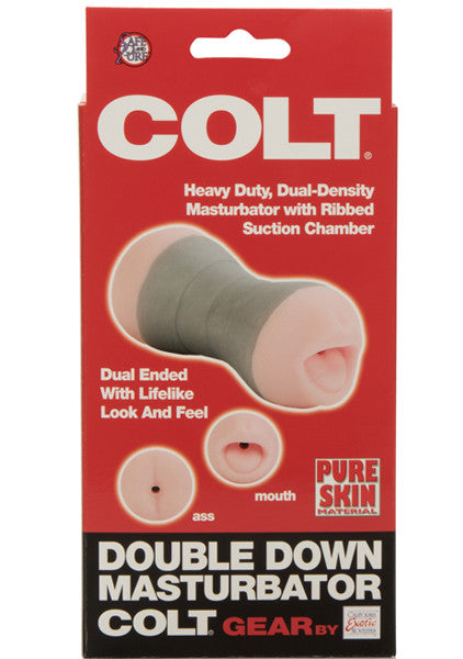 COLT Double Down Masturbator front box view