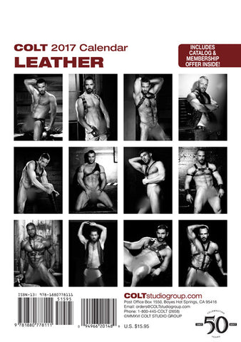 COLT Leather Digital 2017 Calendar
