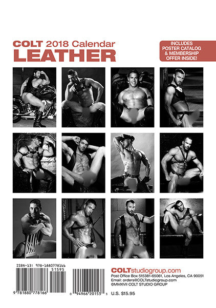 COLT Leather Digital 2018 Calendar