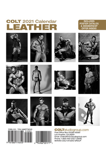Digital COLT Leather 2021 Calendar