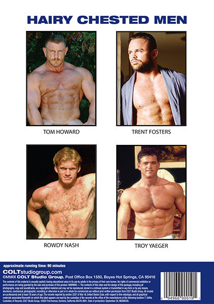 HAIRY CHESTED MEN