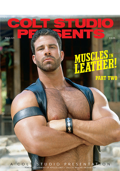 COLT Digital Muscles in Leather!  Part 2