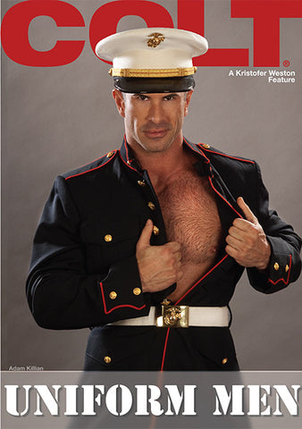 gay muscle porn movie UNIFORM MEN | hotmusclefucker.com