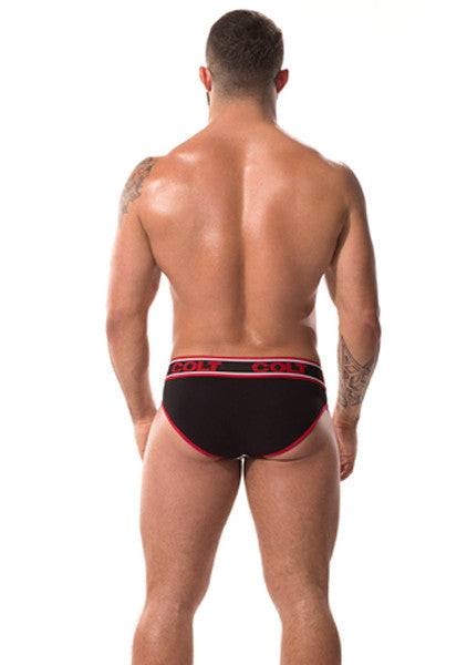 CB Super Low Brief - Black