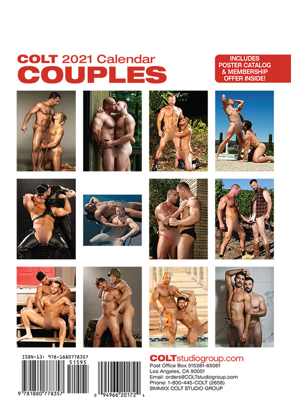 Digital COLT Couples 2021 Calendar