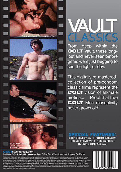 colt dvd vault classics volume 1 package back