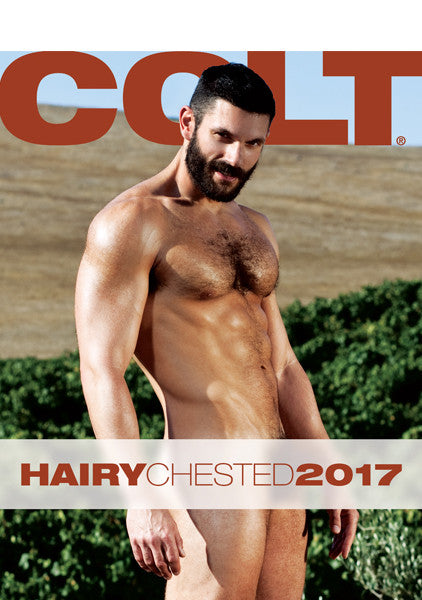 COLT Hairy Chested Digital 2017 Calendar