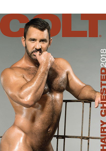 COLT Hairy Chested Digital 2018 Calendar