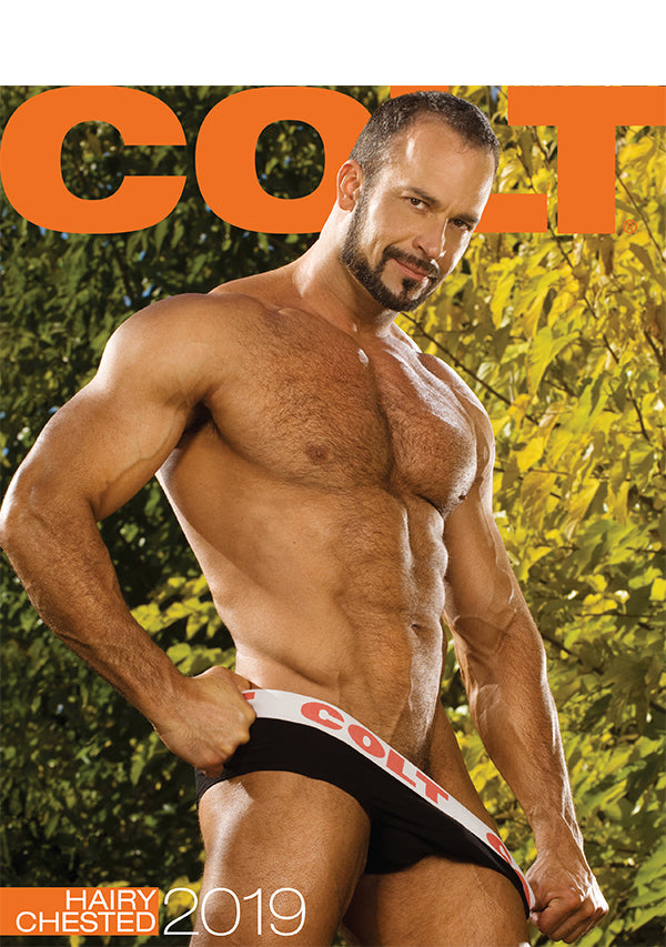 COLT Hairy Chested Digital 2019 Calendar