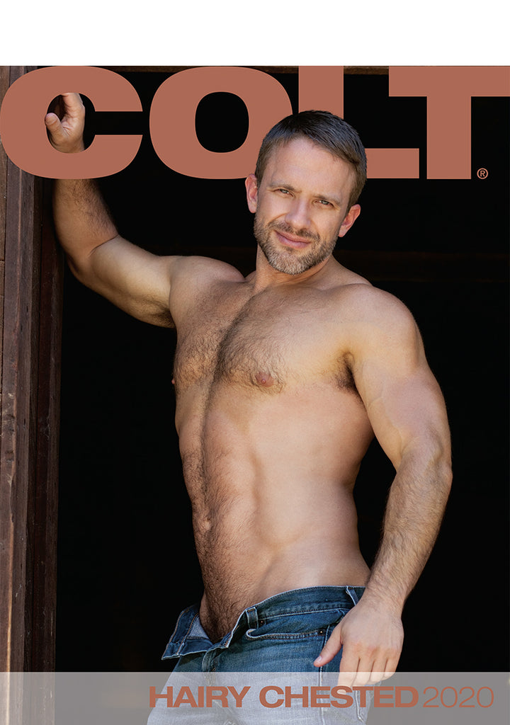 COLT Hairy Chested Digital 2020 Calendar