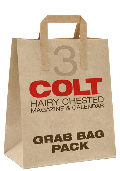 COLT Hairy Chested Magazine & Calendar Grab Bag Pack