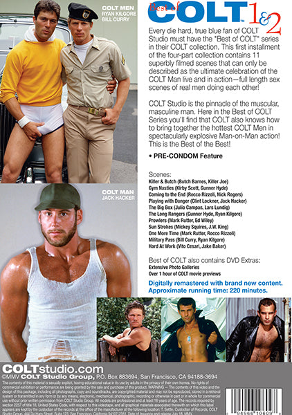 The Best of Colt Films 1-2 Cover Back