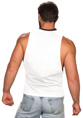 Butcher Tank Top - White