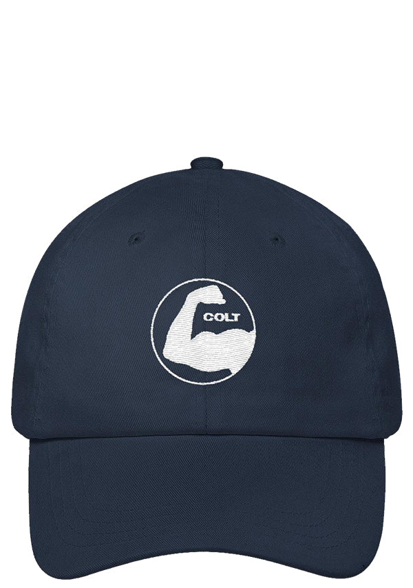 colt bicep cap black navy blue