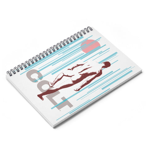 butt beautiful illustration spiral notebook main