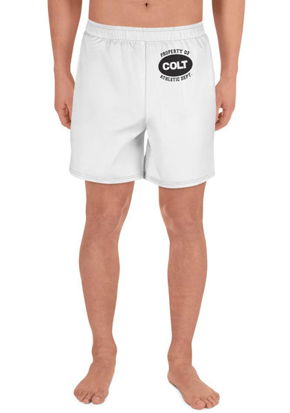 Property of COLT Long Shorts - White