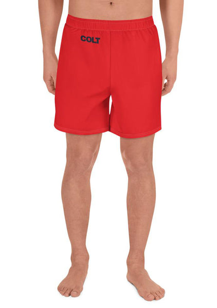 COLT 100% Beef Athletic Long Shorts - Red