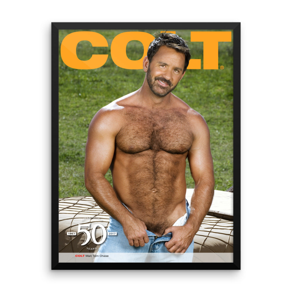 COLT Man Framed Poster - Tom Chase