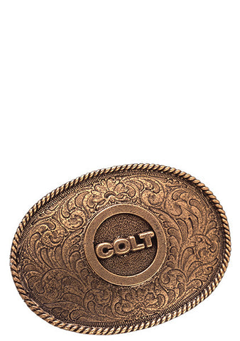 Wagon Wheel Belt Buckle