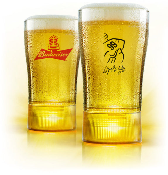 !!! SOLD OUT !!!  Limited Edition Wayne Gretzky Gold-Synced Glass   !!! SOLD OUT !!!