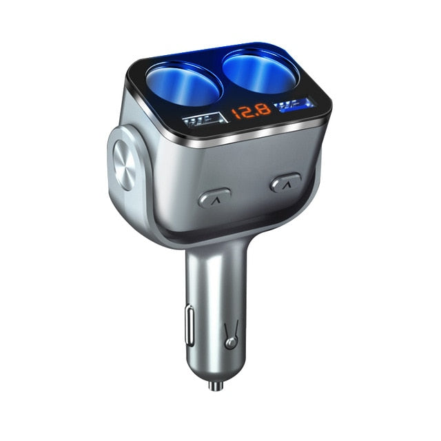Quad Port Car Charger