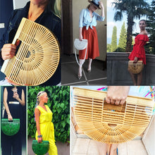 Load image into Gallery viewer, Bamboo Summer Handbag
