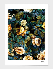 Load image into Gallery viewer, Night Rose Art Print with Frame