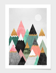 Rocky Mountain High Print with Frame