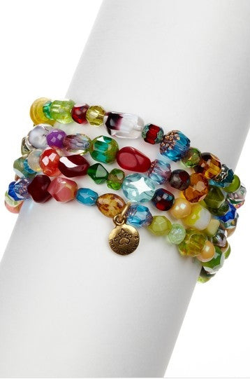 Assorted Gemstone Bracelet Set