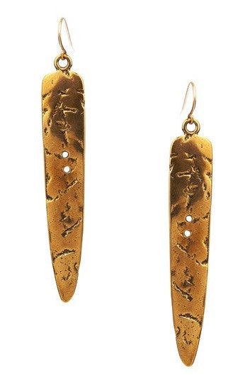 BRONZE SPEAR EARRINGS