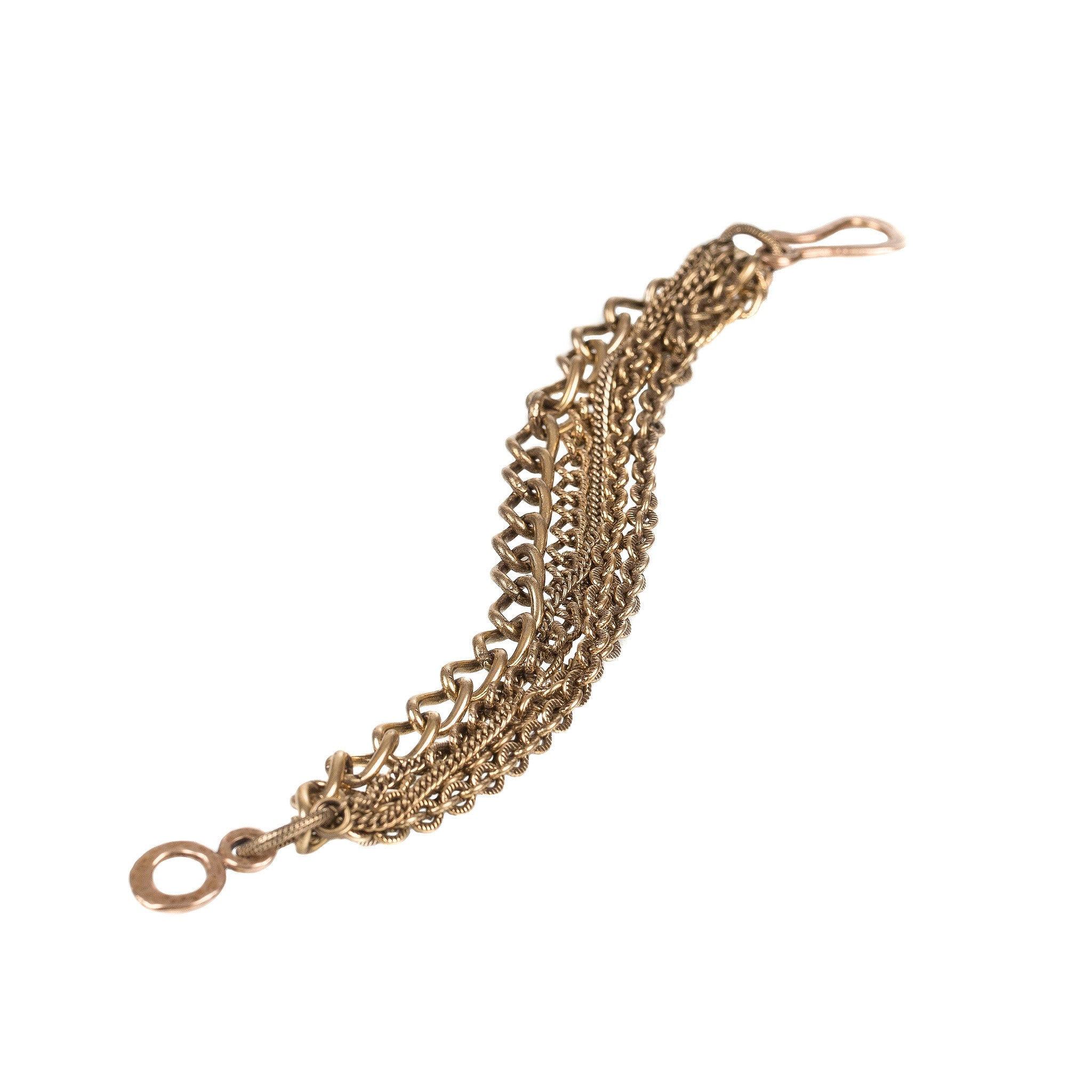 GOLD MULTI-CHAIN BRACELET
