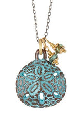 PATINA SAND DOLLAR NECKLACE