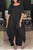 Casual Asymmetrical Solid Maxi Dress