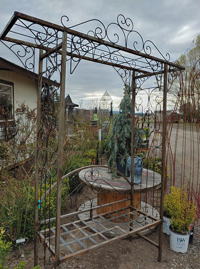 Metal work for your garden