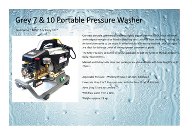 AG11 - Industrial Mobile Pressure washer
