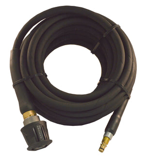 Karcher style extension Rubber Hose Black Quick fit , Quick fit swivel trigger connection