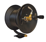 15m Manual Hose Reel complete with hose For Nilfisk Pressure Washers complete with Trigger