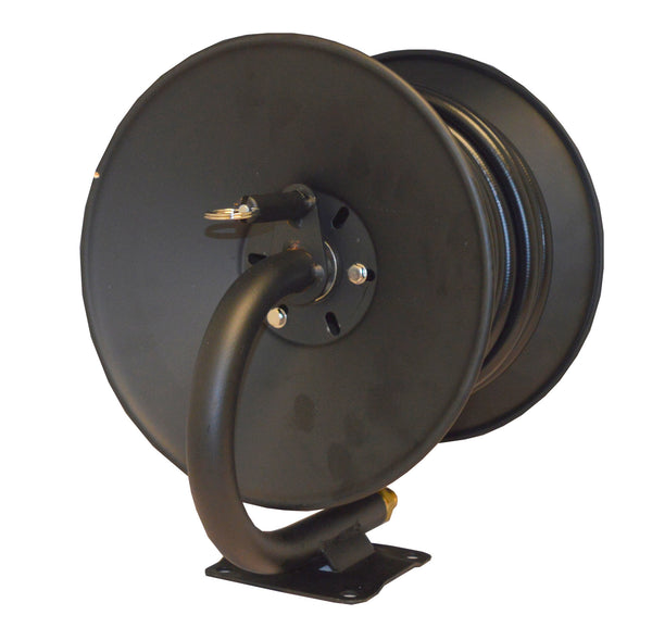 Manual Hose Reel complete with hose For All Black 8 Pressure Washers