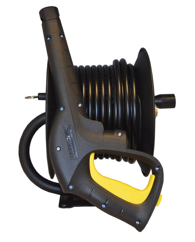 20m Manual Hose Reel complete with hose For Karcher 'K' Series Pressure Washers complete with Trigger