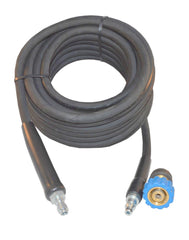 Nilfisk style replacement Rubber LONGLIFE hose Quick fit trigger , quick fit machine connection