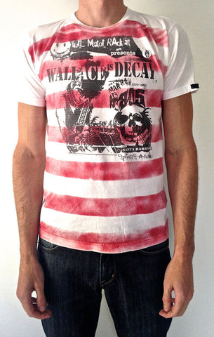Wallace Punk Rock Tee- MEN'S