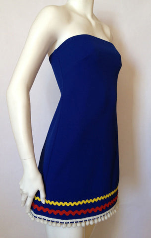 Fiesta Dress in Azul